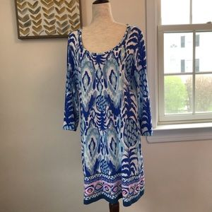 Lilly Pulitzer Tropi Call Me knit dress in…
